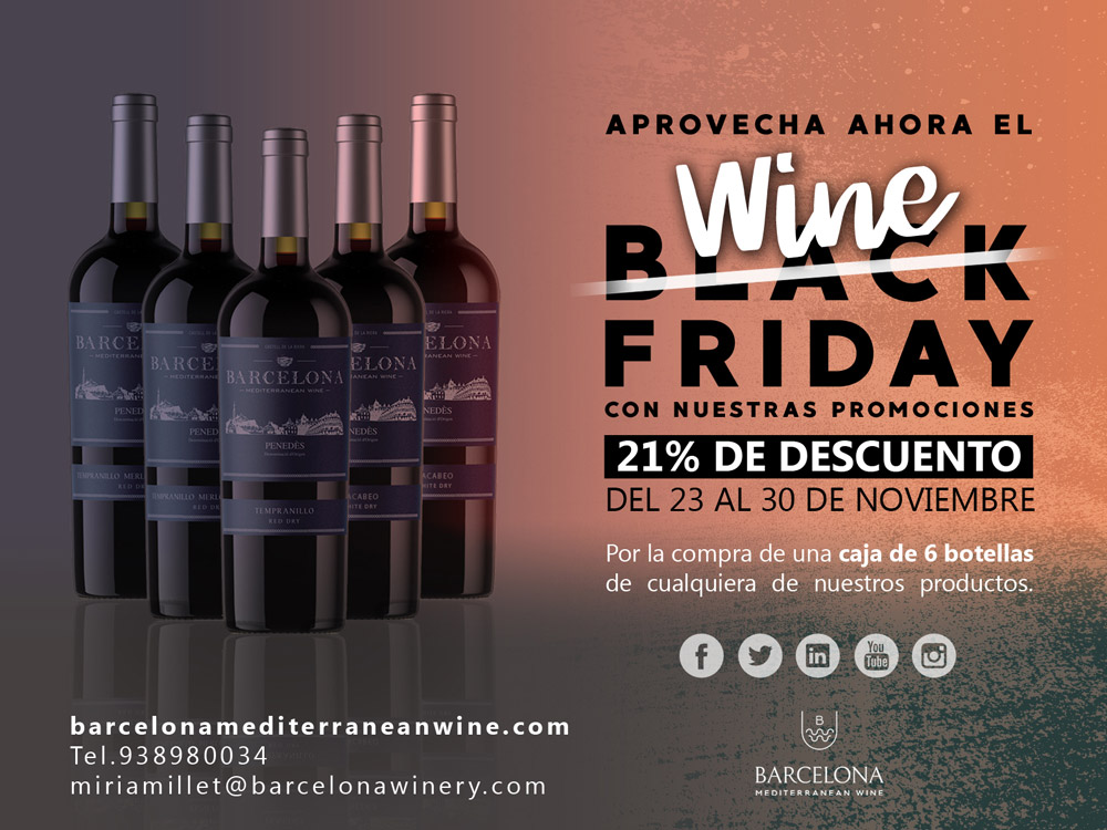 Bodega penedes ofertas vino black friday